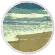 Beachcombers Walk Round Beach Towel