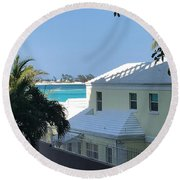 Beachfront Property Round Beach Towel
