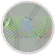 Beachscape Tranquility Round Beach Towel