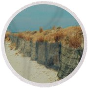 Beachside Round Beach Towel