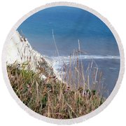 Beachy Head Sussex Round Beach Towel