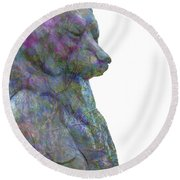 Beary Bear Round Beach Towel
