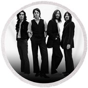Beatles 1968 Round Beach Towel