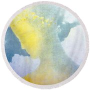 Beatrice Round Beach Towel