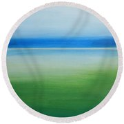 Beaufort Colors Round Beach Towel