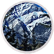 Beautiful Banff Round Beach Towel