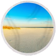 Beautiful Beach Round Beach Towel