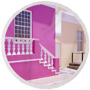 Beautiful Bo Kaap Round Beach Towel