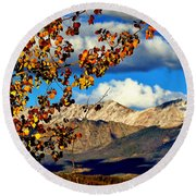 Beautiful Colorado Round Beach Towel