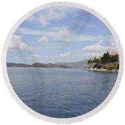 Beautiful Dubrovnik Round Beach Towel