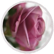 Beautiful Lavender Rose 3 Round Beach Towel