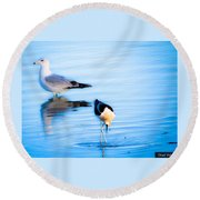 Beautiful Moments In Time Round Beach Towel
