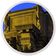 Beautiful Palace Of Fine Arts Round Beach Towel