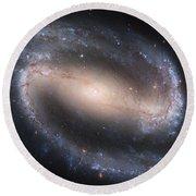 Beautiful Spiral Galaxy Round Beach Towel