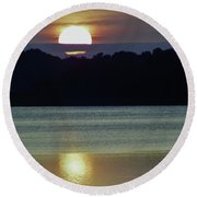Beautiful Sun Round Beach Towel