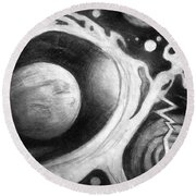 Beautiful Universe. Space Art Round Beach Towel