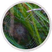 Beauty And Intricacy Round Beach Towel