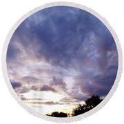 Beauty In The Morning Round Beach Towel