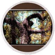 Beauty Of Natures Art Round Beach Towel