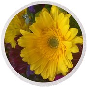 Beauty Of Spring Round Beach Towel