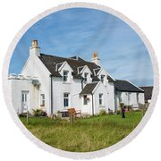 Iona Bed And Breakfast Two Round Beach Towel
