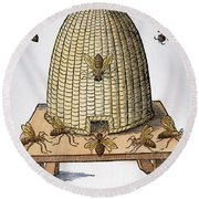 Beehive, 1658 Round Beach Towel