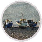 Beer - East Devon. Uk Round Beach Towel