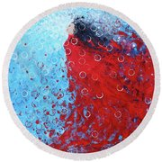 Being A Woman 6 - In Water Round Beach Towel