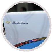 Bel Air Blue Round Beach Towel
