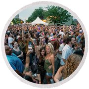 Bele Chere Festival Crowd Round Beach Towel