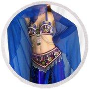Belly Dance Modeling. Sofia Of Ameynra Round Beach Towel