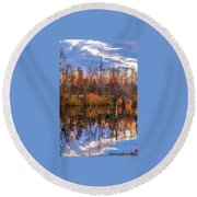 Beluah Road Round Beach Towel