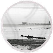Bembridge Lifeboat Station From St Helens Round Beach Towel