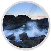 Beneath The Arch Round Beach Towel