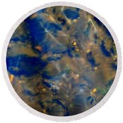 Beneath The Surface Round Beach Towel