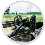 Bentonville Nc Confederate Artillery Round Beach Towel