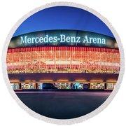Berlin - Mercedes-benz Arena Round Beach Towel