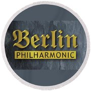 Berlin Philharmonic Round Beach Towel