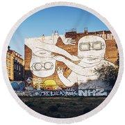 Berlin - Street Art Round Beach Towel