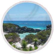 Bermuda Bliss Round Beach Towel