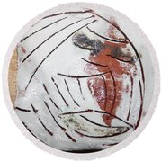 Bertha - Tile Round Beach Towel