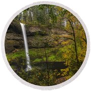 Best Of Silver Falls Round Beach Towel