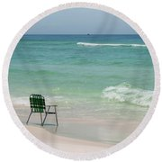 Best Seat  Round Beach Towel