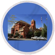 Best Western Plus Windsor Hotel -2 Round Beach Towel
