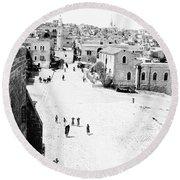 Bethlehem 1889s Round Beach Towel