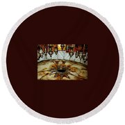 Bethlehem Star Round Beach Towel