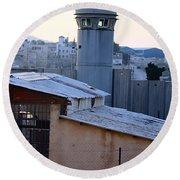Bethlehem Watchtower Round Beach Towel