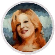 Bette Midler Collection - 1 Round Beach Towel