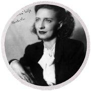 Betty Smith (1896-1972) Round Beach Towel