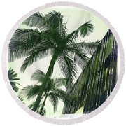 Beverly Hills Rodeo Drive 1 Round Beach Towel